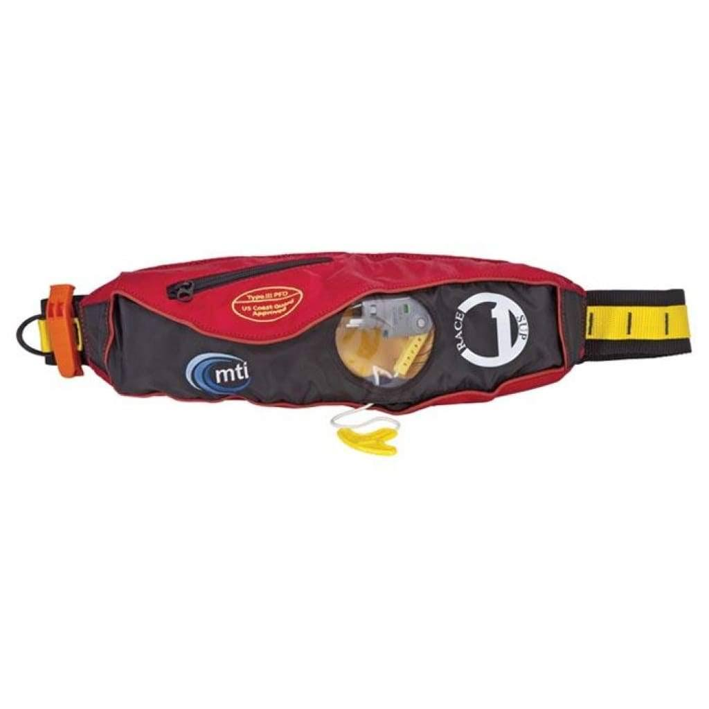 MTI Fluid 2.0 Inflatable Belt Pack Race Red