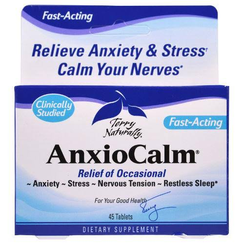 Terry Naturally AnxioCalm - 45 Tablets