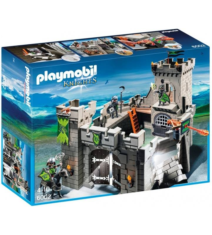 Playmobil Knights Wolf Knights Castle Playset