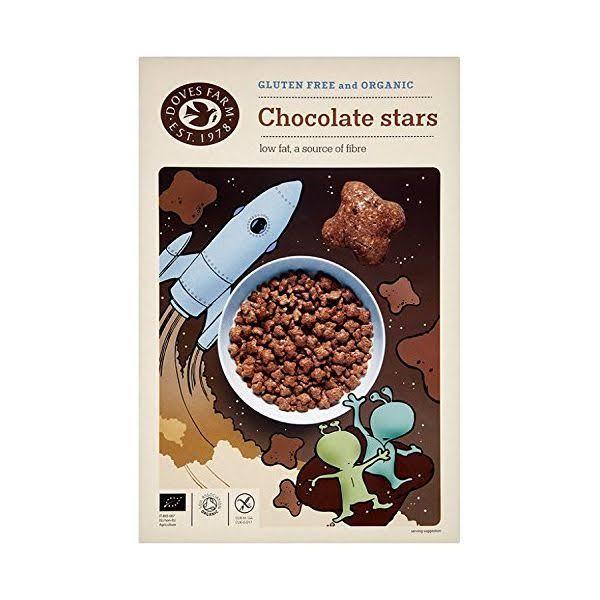 Doves Farm FREEE Organic Chocolate Stars - 300g
