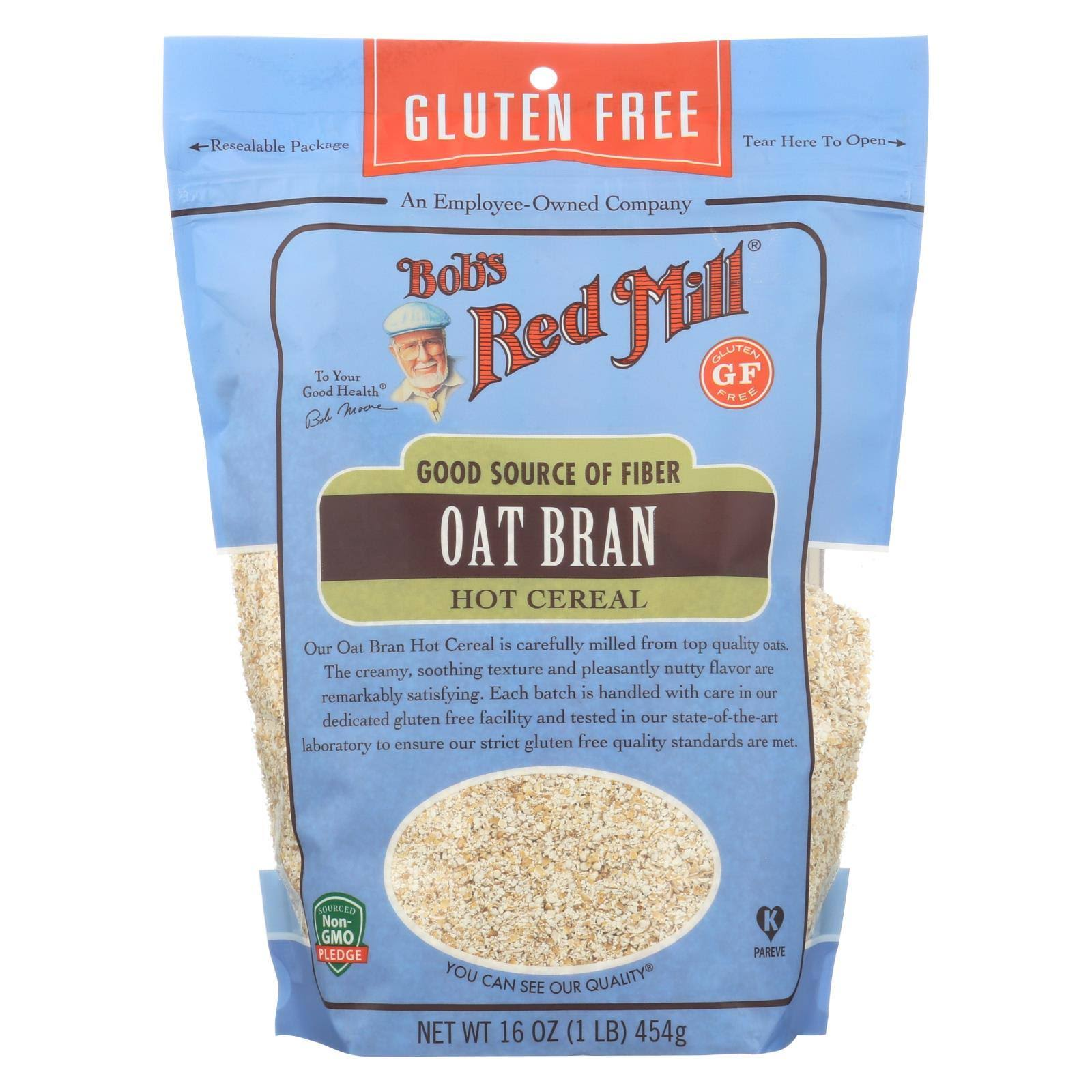 Bob's Red Mill Gluten Free Oat Bran Hot Cereal - 16oz