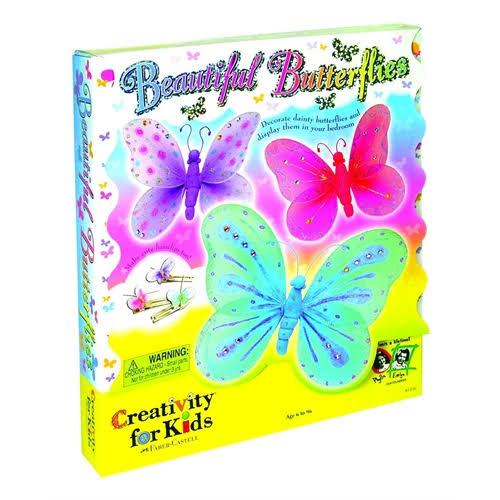 Creativity Kits Butterfly Hair Clips Kit