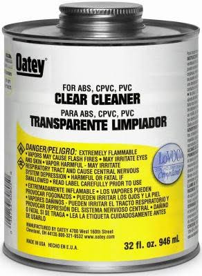 Oatey All Purpose Cleaner Low VOC 8 oz Clear