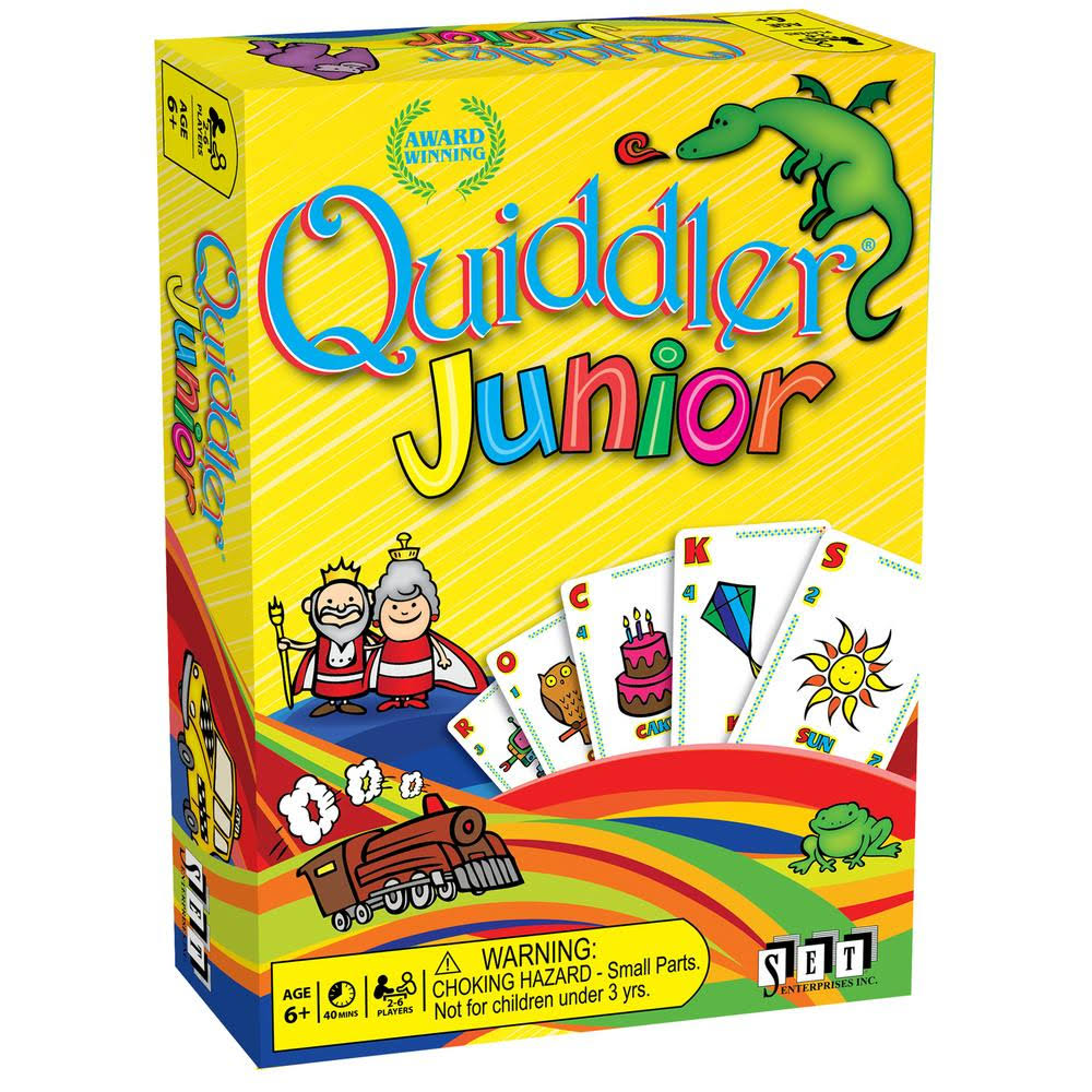 Set Enterprises Quiddler Junior Card Game