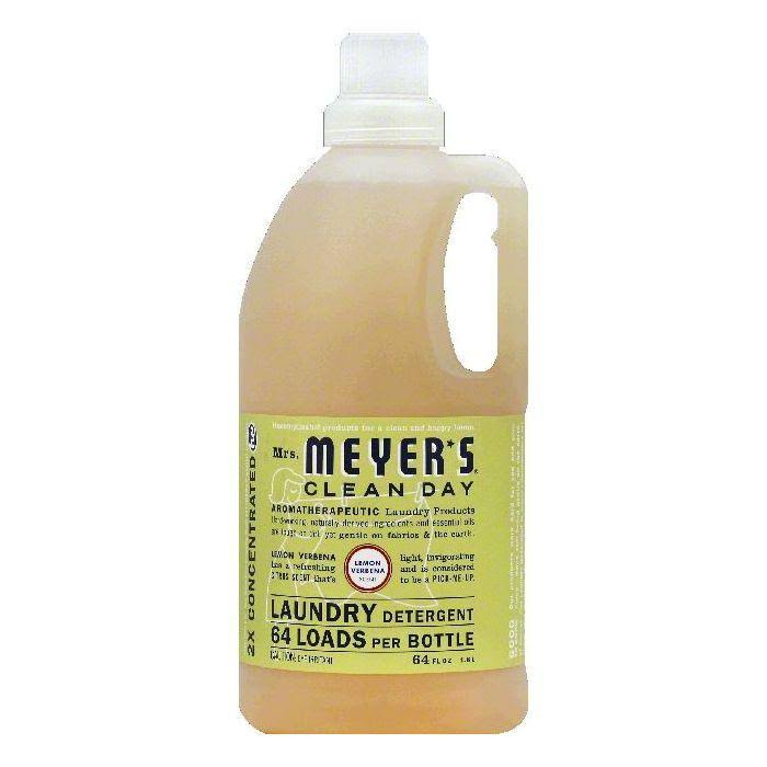 Mrs. Meyer's Clean Day Lemon Verbena Laundry Detergent - 64 oz