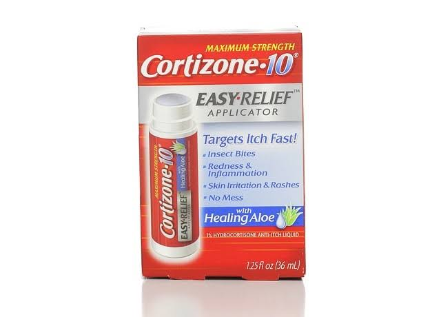 Cortizone-10 Maximum Strength Easy Relief Applicator With Healing Aloe - 36ml