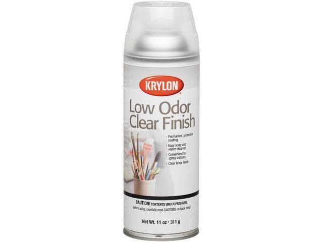 Krylon 7110 Low Odor Clear Finish Spray - Gloss, 11oz