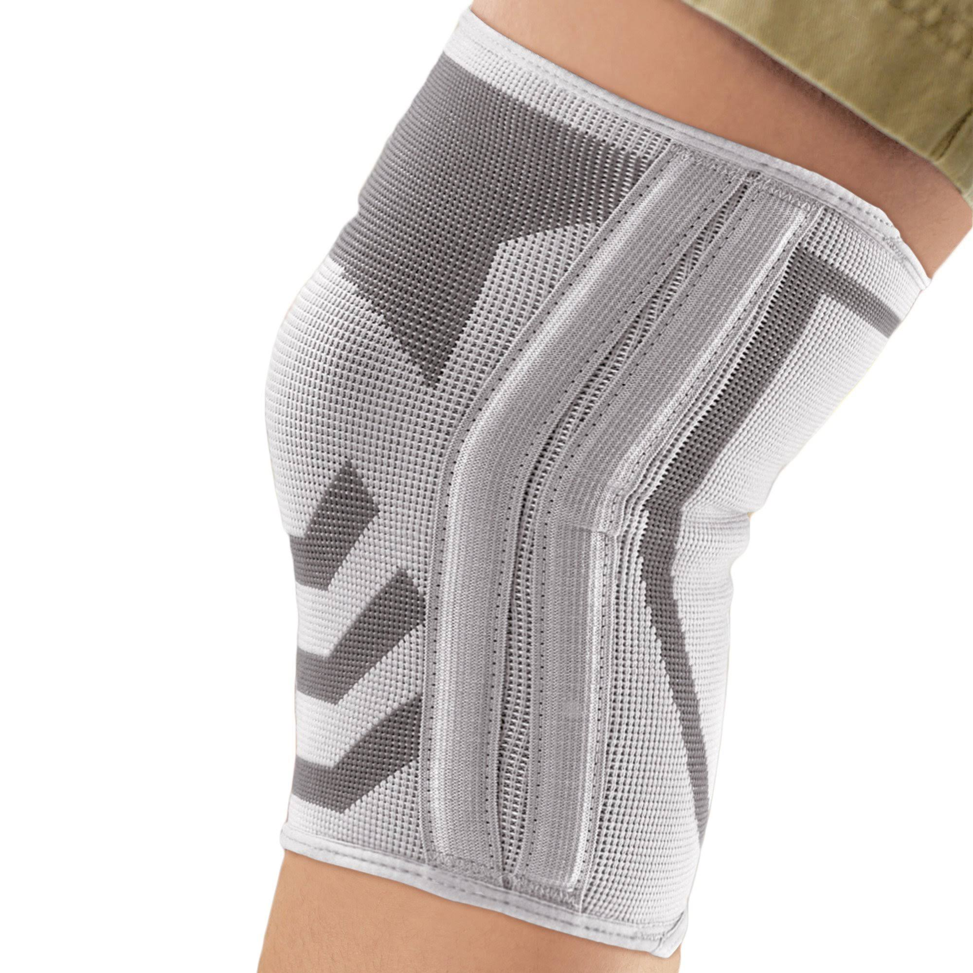 Ace Knitted Knee Brace With Side Stabilizers - X-Large