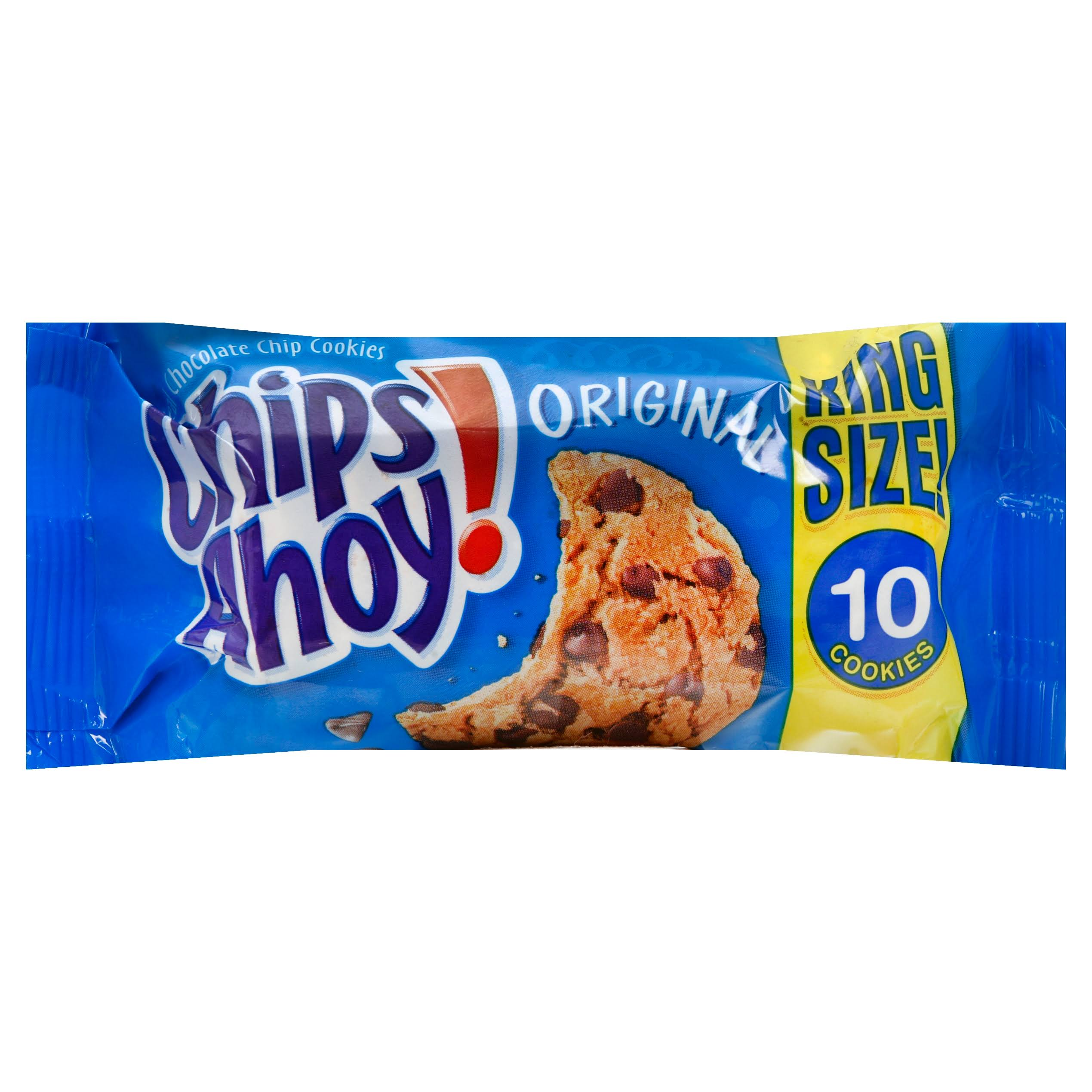 Chips Ahoy Cookies, Chocolate Chip, Original, King Size - 3.75 oz