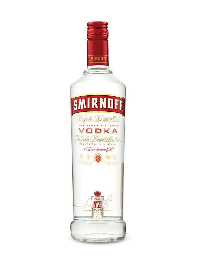 Smirnoff Recipe No 21 Vodka - 1L