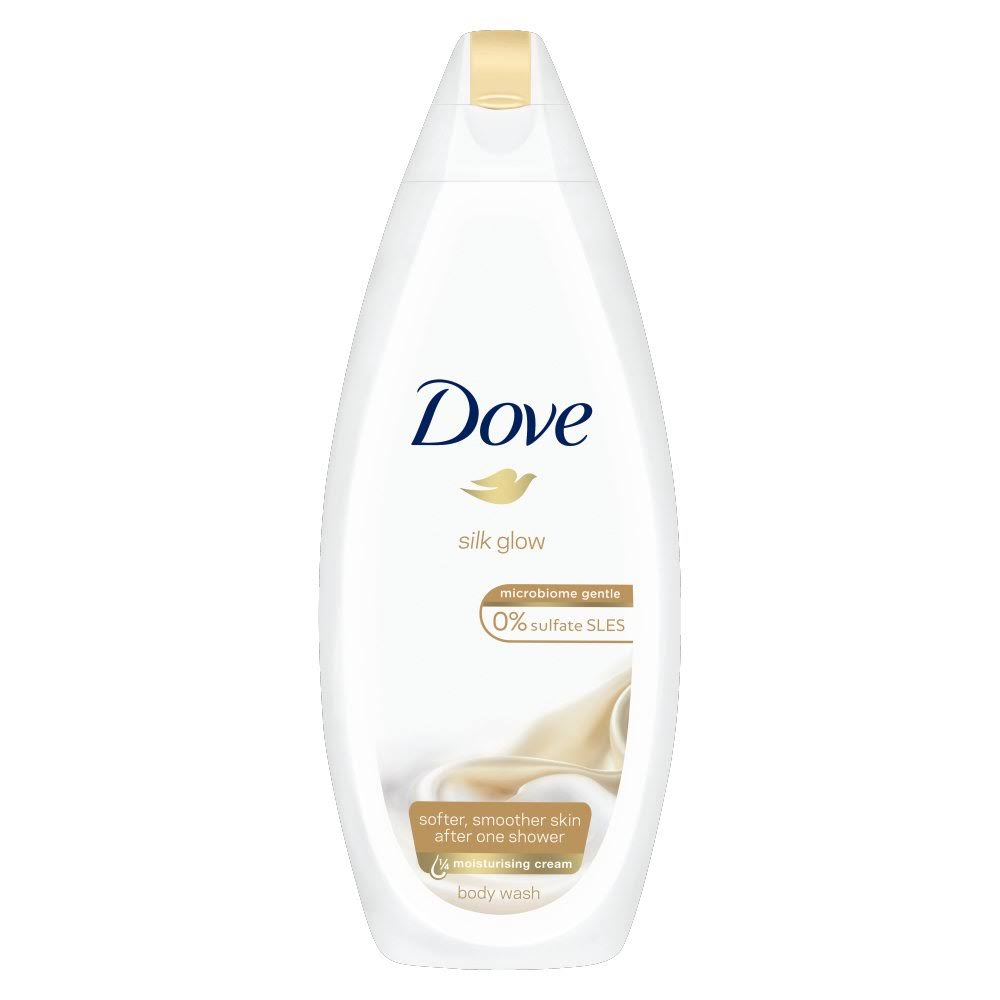 Dove Silk Glow Body Wash - 225ml