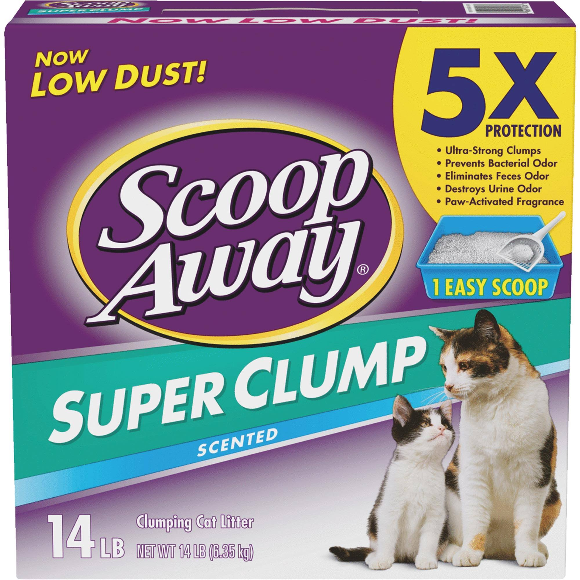 Scoop Away Fresh Scent Cat Litter - 14lb, 3 Pack