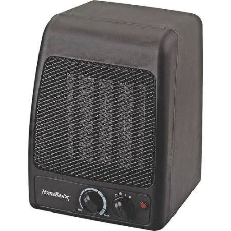 Homebasix Electric Ceramic Heater - 1500W