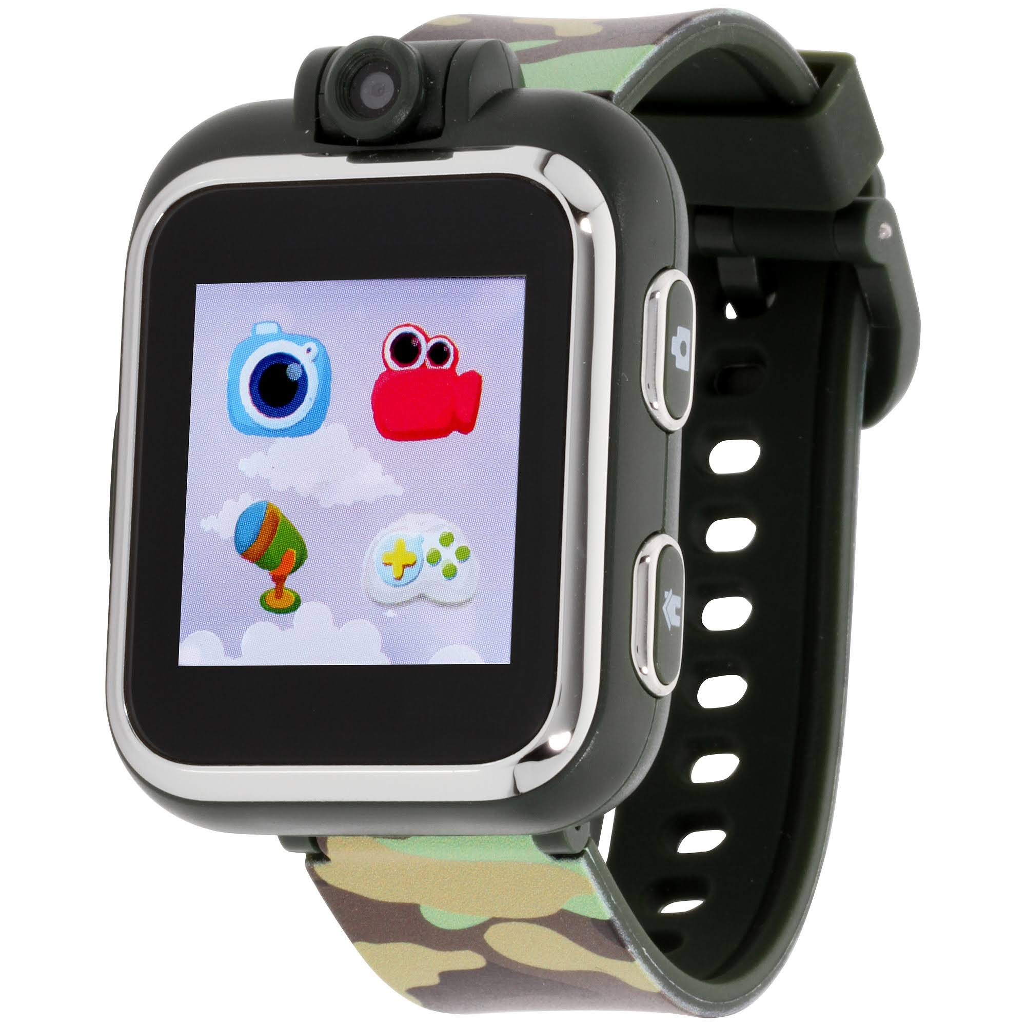 iTouch Play Zoom Kids Touch Screen Smartwatch - Camouflage