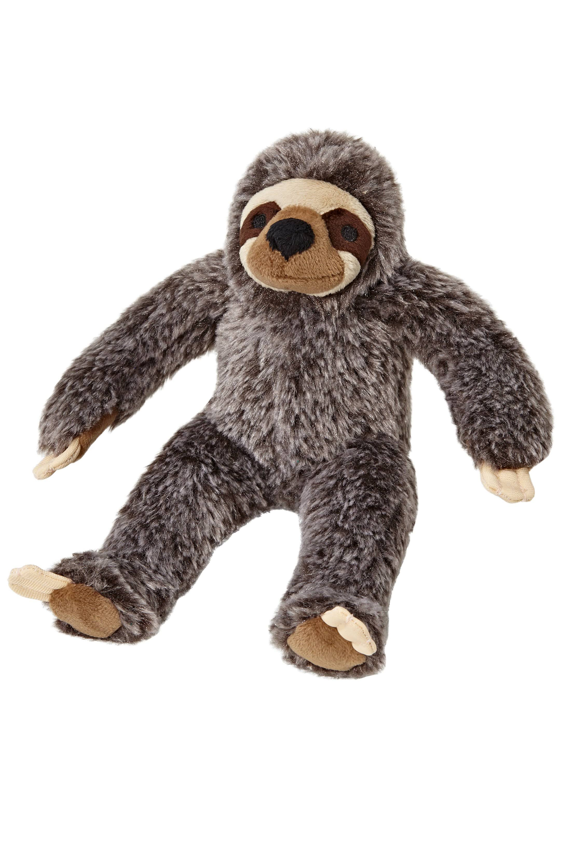 "Fluff & Tuff Sonny Sloth 9"" Dog Toy"
