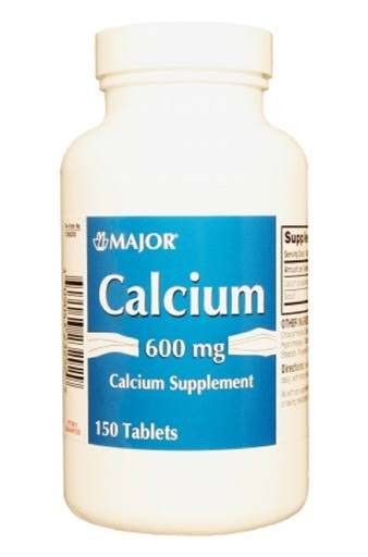 Major Calcium Carbonate Supplement - 600mg, 150ct