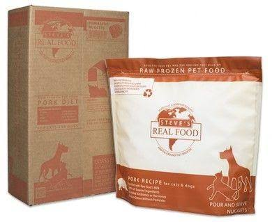 Steve's Real Food Pork Frozen Raw Food | 13.5 lb