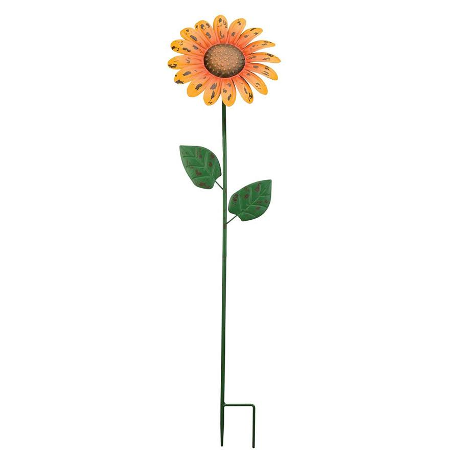Regal Art & Gift Daisy Rustic Flower Garden Stake