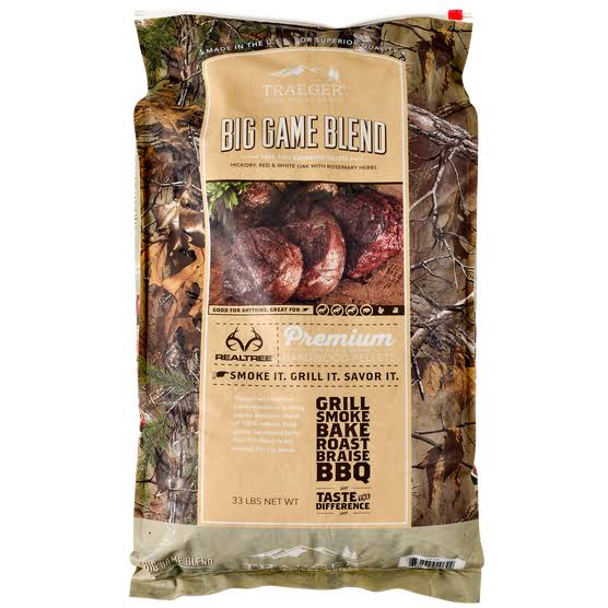 Traeger Big Game Blend Wood Pellets