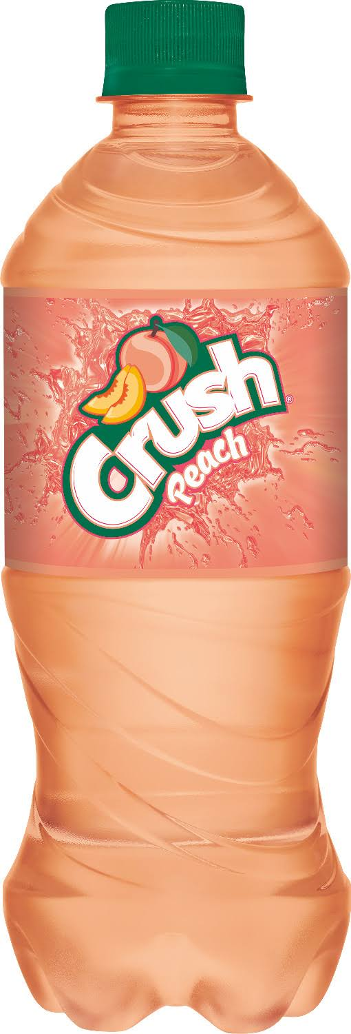 Crush Peach Soda - 20 fl oz bottle