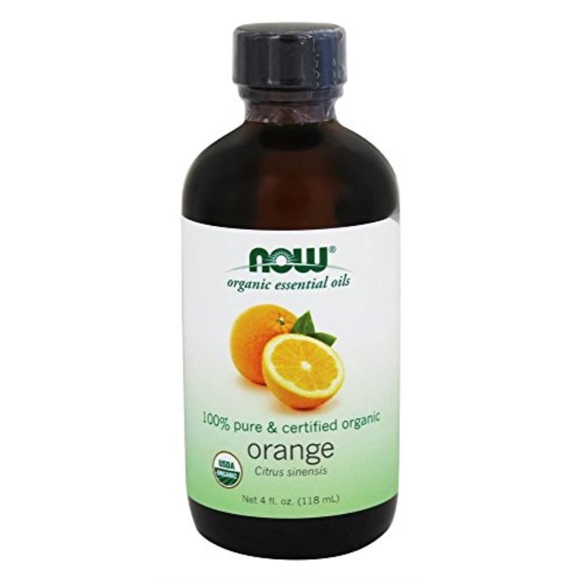 Now Organic Orange Oil 4 oz, Size: 4 fl oz