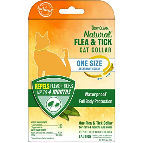Tropiclean Flea & Tick Cat Collar