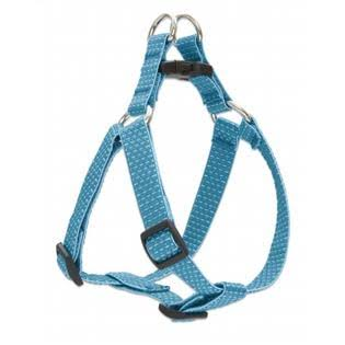 "Lupine 36344 Eco Step in Harness for Small Dogs Tropical Sea - 3/4"" X 15-21"""