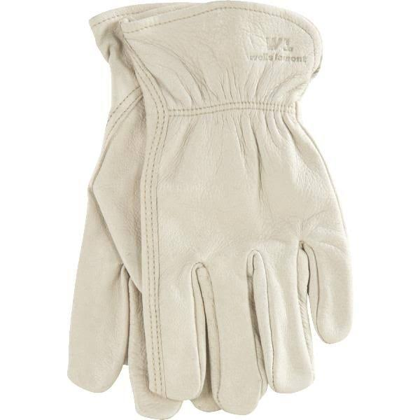 Wells Lamont Leather Work Gloves - Grain, Large