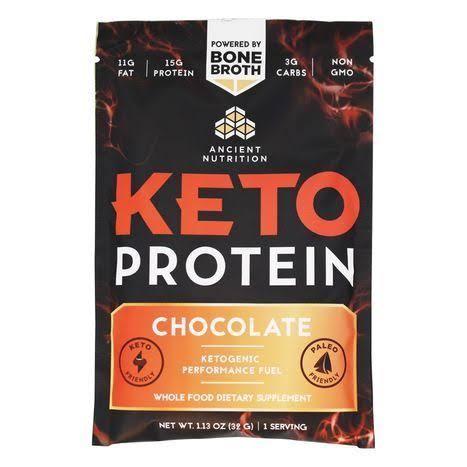 Ancient Nutrition - Keto Protein Chocolate (Single)