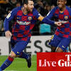 Barcelona 1-0 Granada: La Liga – as it happened
