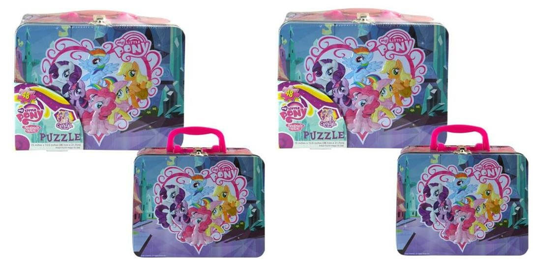 Cardinal My Little Pony 48-Piece Puzzle with Lunch Box Tin