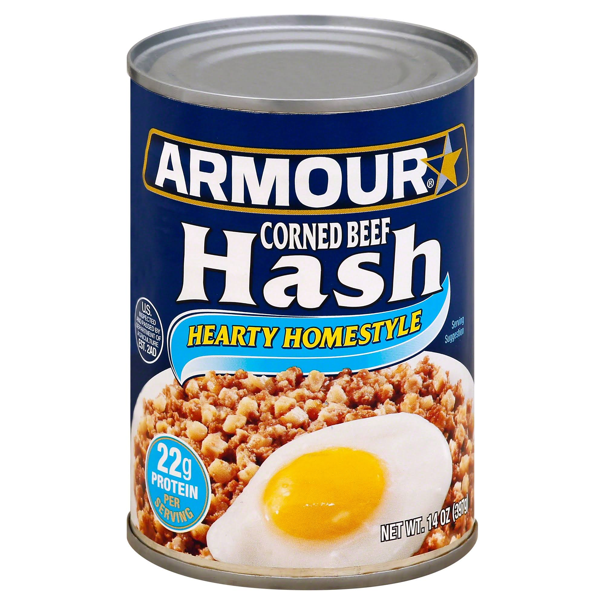 Armour Hearty Homestyle Corned Beef Hash - 14oz