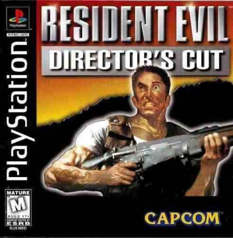 Resident Evil Director's Cut - PlayStation 1