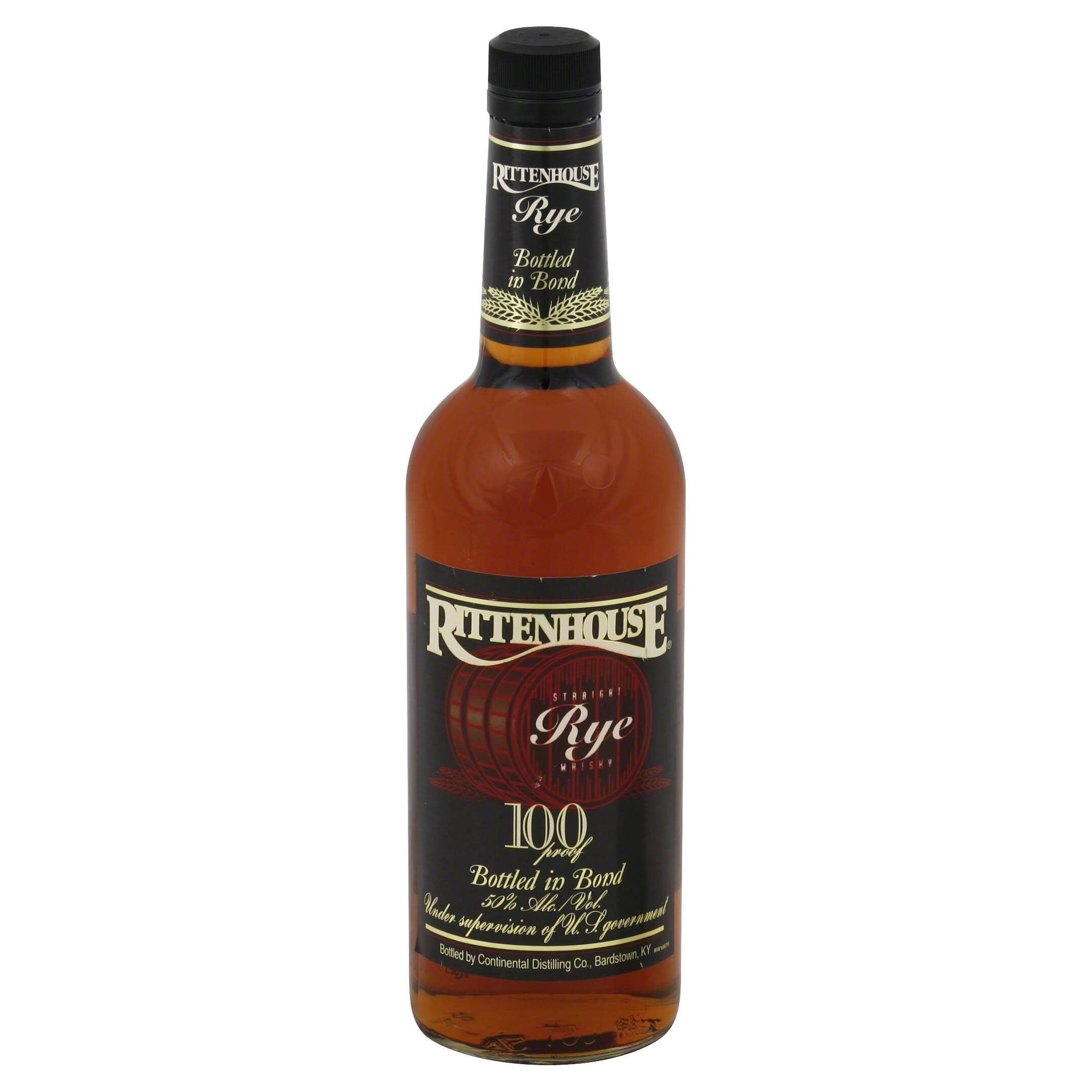 Rittenhouse Whisky, Straight Rye - 750 ml