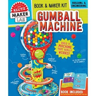 Klutz Maker Lab Gumball Machine Book and Maker Kit