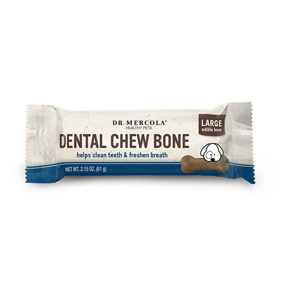 Dr Mercola Dental Chew Bones for Dogs Large