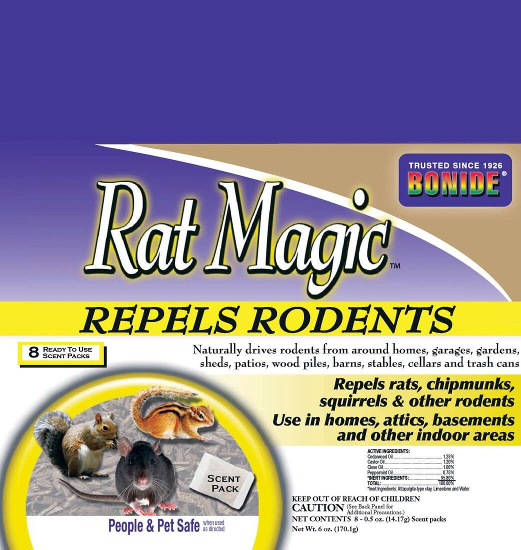 Bonide Rat Magic Scent - 8pk