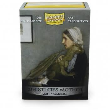 Dragon Shield Art Classic - Whistler's Mother - 100 Deck Sleeves