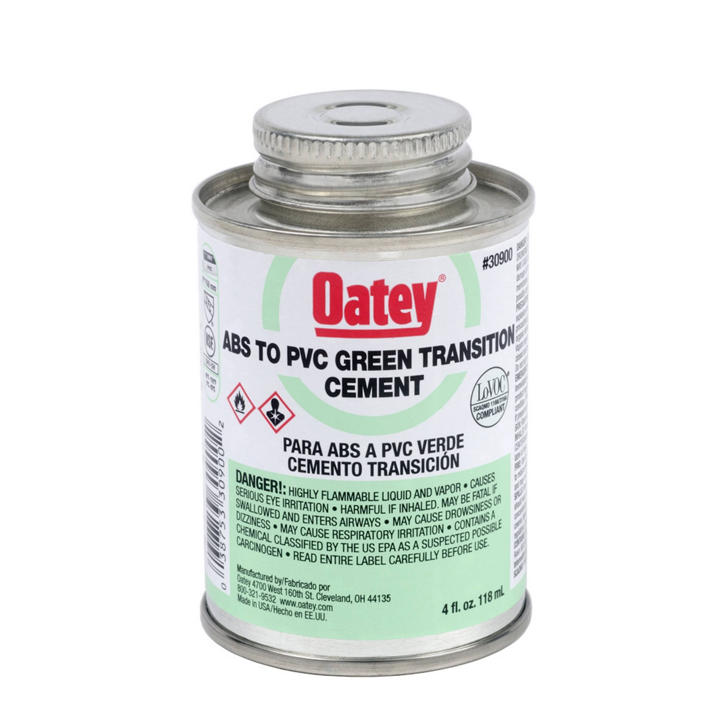 Oatey Rain-R-Shine PVC Cement - 237ml
