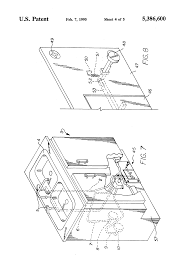Foot Pedal Faucet Valve by Patent Us5386600 Latching Foot Pedal Actuated Tap Water Flow