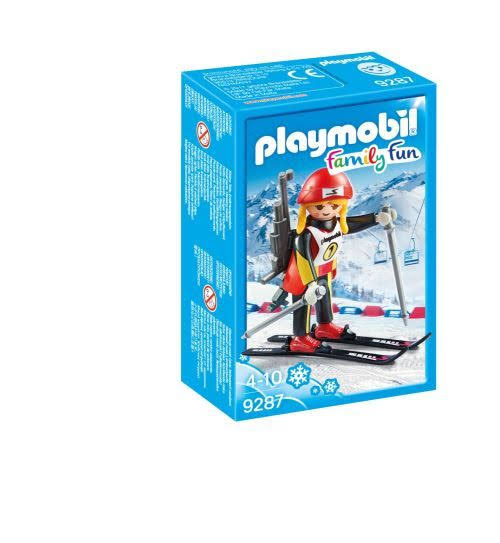 Playmobil Family Fun Female Biathlete Toy