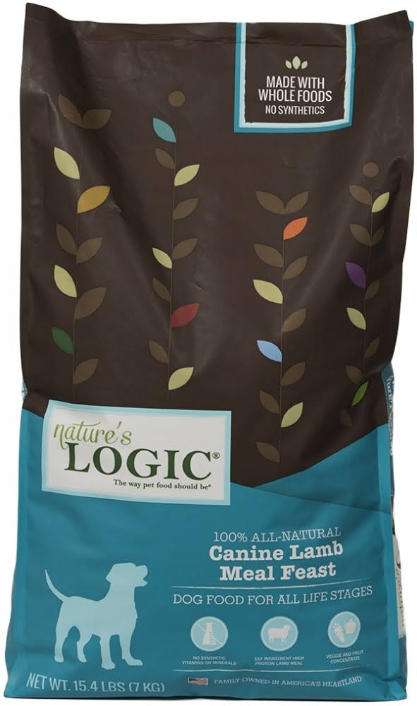 Nature's Logic Natural Lamb Dry Dog Food - 26.4lbs
