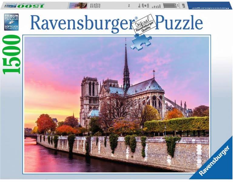 Ravensburger Picturesque Notre Dame Jigsaw Puzzle - 1500pcs