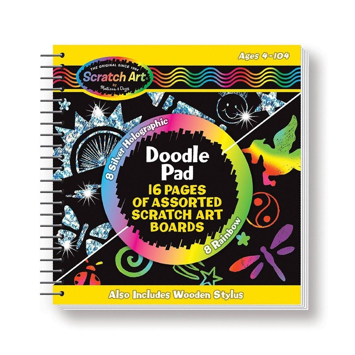 Melissa and Doug Scratch Magic Doodle Pad