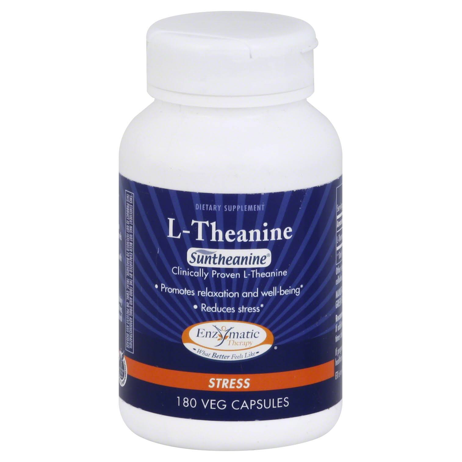 Enzymatic Therapy L-Theanine - 180 ct