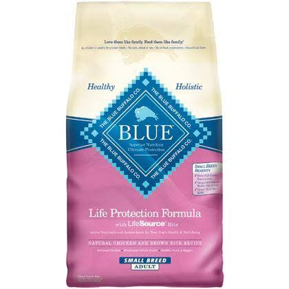 Blue Buffalo Dry Food Small Breed Life Protection Formula Chicken and Rice Dog Food