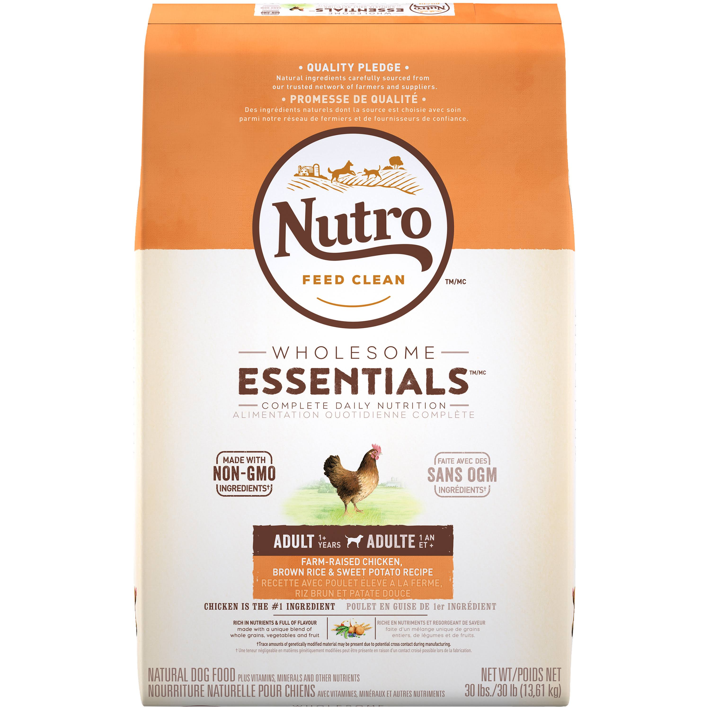 Nutro Original Adult Dog Food - Chicken, Whole Brown Rice and Oatmeal Recipe