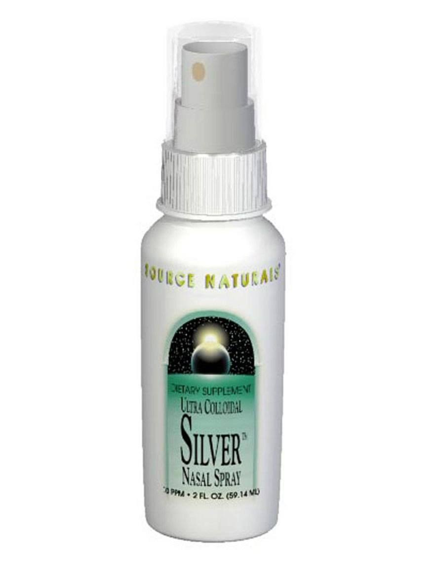 Source Naturals Ultra Colloidal Silver Nasal Spray 10 ppm - 1 fl oz