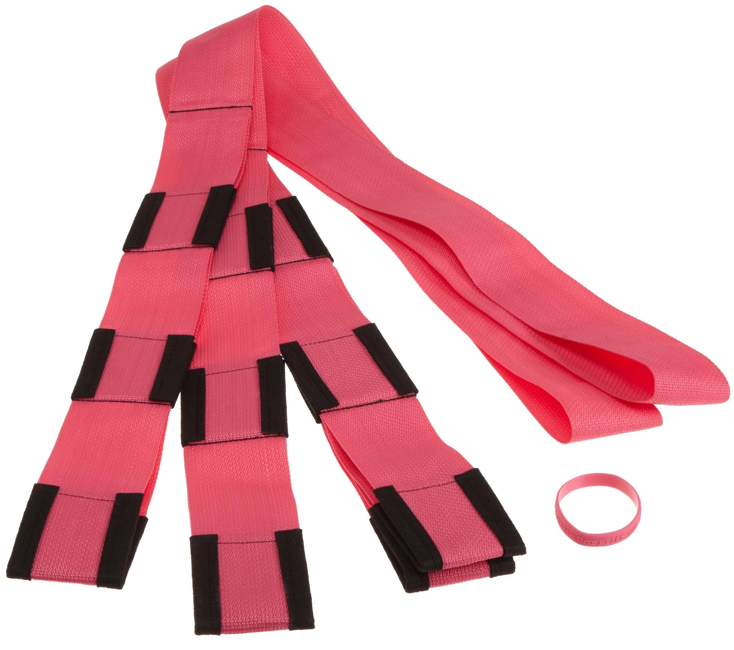 Forearm Forklift Lifting and Moving Straps, Pink, Model L74995P
