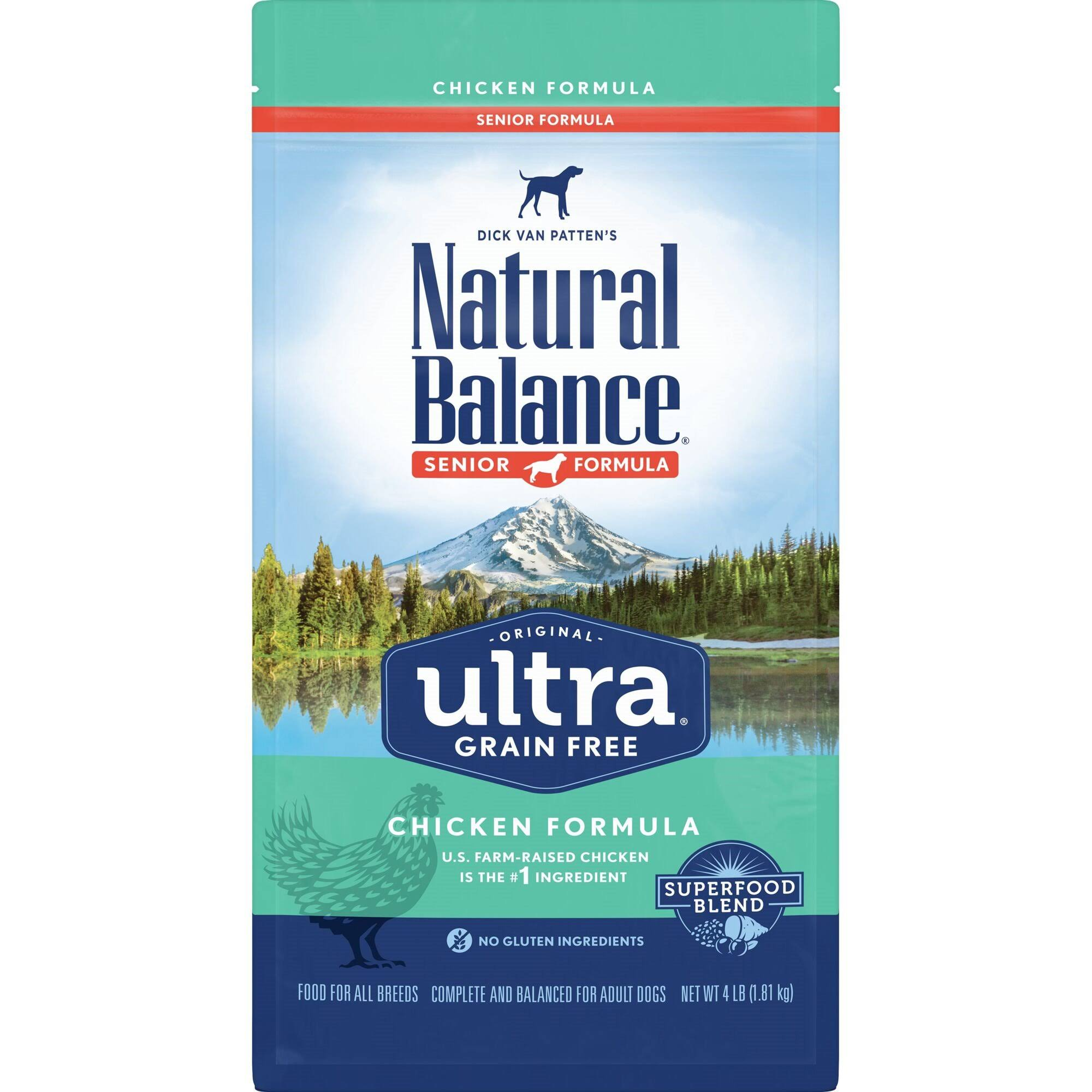 Natural Balance Original Ultra Grain Free Senior Recipe with Chicken Dry Dog Food 4-lb